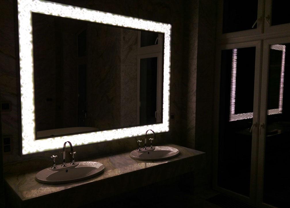Зеркала с подсветкой в Алматы