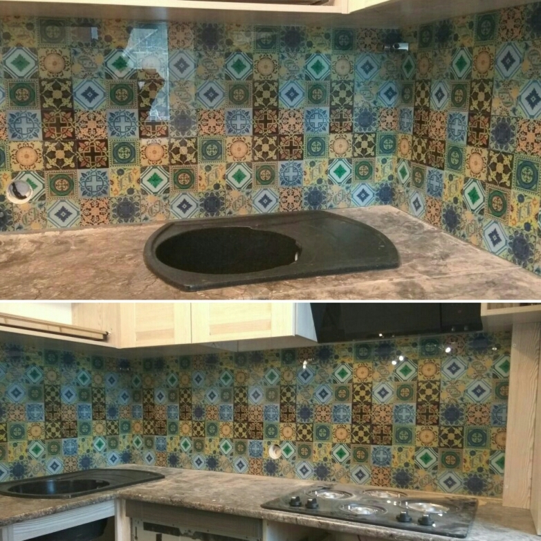 Кухонный фартук в Алматы: Скинали для кухни