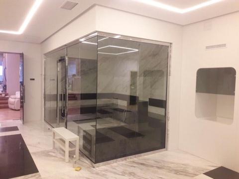 Стеклянные офисные перегородки в Алматы