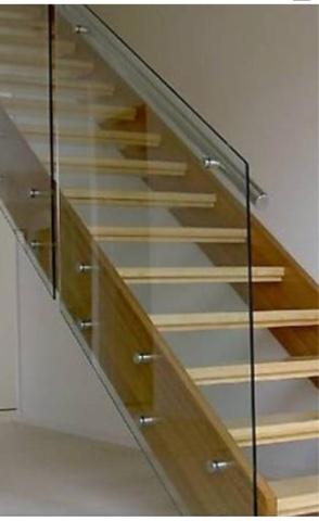 стеклянная лестница изготовление в Алматы