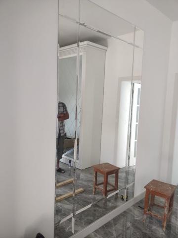 Зеркало в Алматы с фацетом на заказ