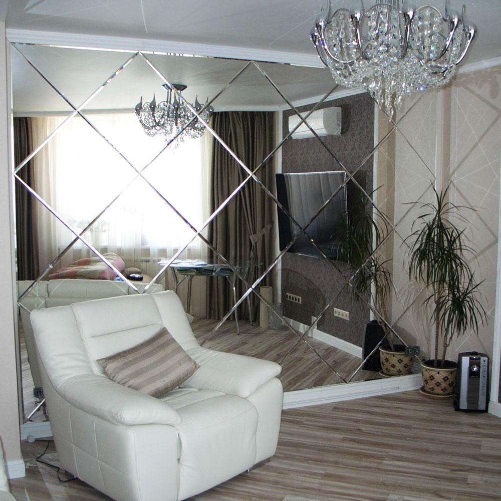 Купить зеркало в Алматы, изготовление зеркал на заказ (8)